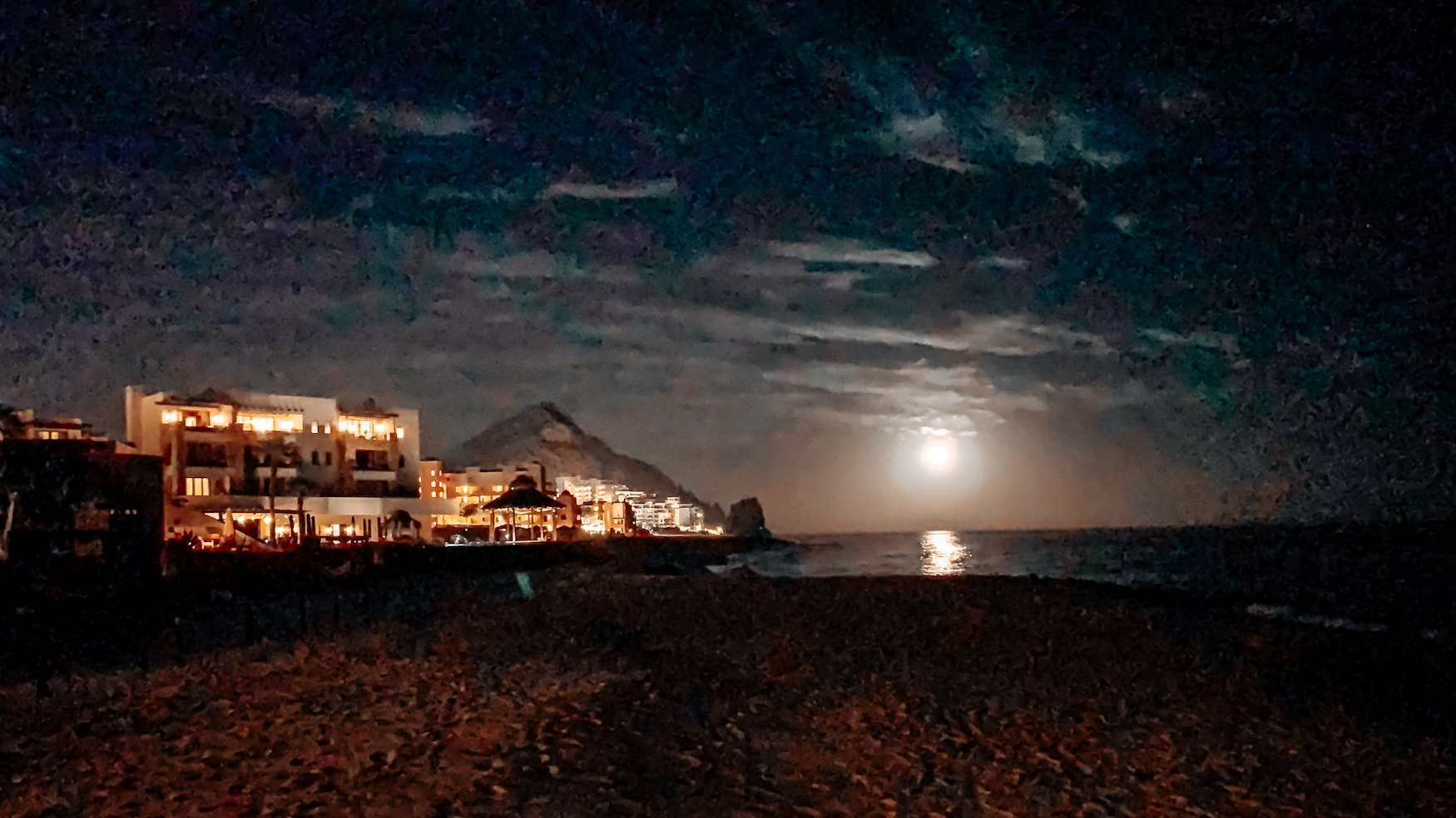 Night at Pedregal Los Cabos